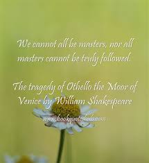 Tragedy Quotes New Othello Book Quotes Hub