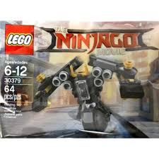 Lego 30379 Mini Quake Mech Exclusive Mini Version of Cole Quake Mech In  Sealed Polybag The Lego Ninjago Movie (TLNM)