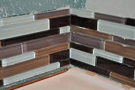 tile backsplash corner well known popular of installing glass tile install a kitchen glass tile glass