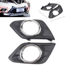 2016 Nissan Rogue Fog Light Cover Us 13 34 11 Off Car Front Bumper Fog Lights Lamp Cover Trim For Nissan Rogue X Trail 2014 2015 2016 In Car Light Accessories From Automobiles