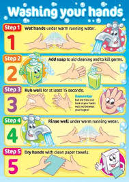 kids washing hands poster. Unique Kids Promote Good Hygiene For Children Colourful Posters With Child Friendly  Characters Poster Size A3 Encapsulated To Stay Waterproof 4 Per Pack Ref  In Kids Washing Hands I
