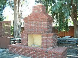 fine design outdoor brick fireplace beauteous outdoor brick fireplace an at the winter