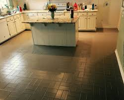 Painted Kitchen Floor Pet Safe And Clean At A Cost That Is Lean Painting Floors Can