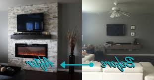 before and after diy electric fireplace build electric for simple diy electric fireplace