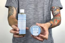 Tattoo Care With Dr Bronners Dr Bronners
