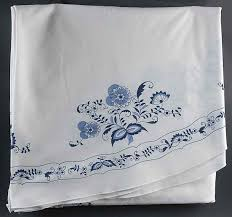 70 inch round tablecloth blue danube by blue danube japan