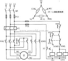 three phase two speed motor wiring diagram schematics throughout electric motor wiring diagram 3 phase at 3ph Motor Wiring Diagram
