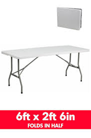 fabulous party tables 13 plastic round folding portable table six foot dinner 10 where to 945x1418
