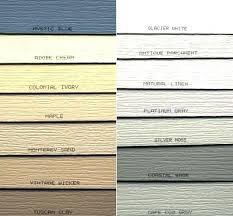 Aluminum Siding Colors Chart Menards Siding Colors Cooksscountry Com