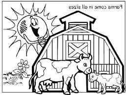 Barnyard Farm Coloring Pages Cute Baby Whale New Free Animal Book