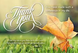 Thank You Notes Appreciating Pastor | Pastor-Gifts.com