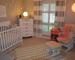 shades of grey baby room with white