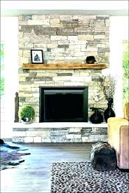 fake stone fireplace wall panels install faux full indoor interior covering sto