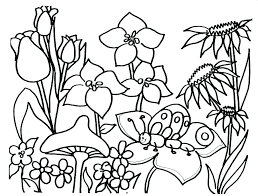 Coloring Pages For Spring Free Spring Break Coloring Pages Free