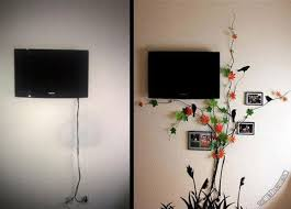 20 Simple and Ingenious DIY Projects That Will Hide Your Wires Into Wall  Art Ideas to