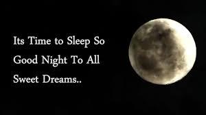 Its Time To Sleep Good Night Video Status