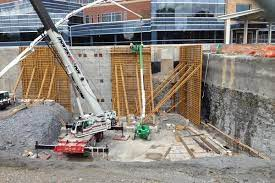 tall walls concrete construction