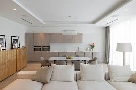 modern open plan apartment