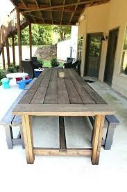 outdoor table plans how