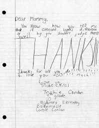 Mother S Day Letters Thanks For Teaching Me That Mom Syracuse Com