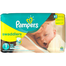 pampers swaddlers size 2 132 count pampers swaddlers size 1 diapers from albertsons instacart