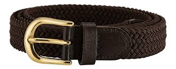 Miss Me Belt Size Chart Streeze Ladies Stretch Belts Elasticated Woven Braided Fabric 1 Inch Wide With Gold Buckle 5 Sizes Xs Xl 10 Colours