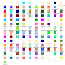 Gdi Net Color Hatchstyle Chart
