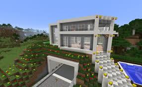 ᐅ Modernes Haus Mit Garage In Minecraft Bauen Minecraft Bauideende