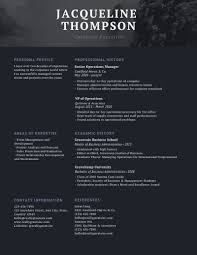 Professional Resume Examples 2020 Heres What Your Resume Should Look Like For 2020 Learn