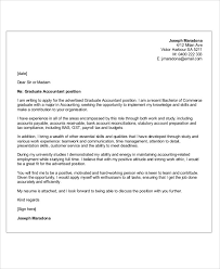 work study cover letters 12 accounting cover letters free sample example format download
