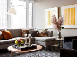 decorating with a round coffee table