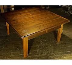 image of reclaimed barn wood coffee table