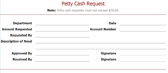 Petty Cash Slips Template Best Photos Of Petty Cash Slip Template Free Printable Petty Cash 6