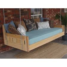 hanging daybed swing. Exellent Hanging Thacker Cedar Country Style Hanging Daybed Swing Inside