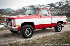 1985 Chevrolet C/K Pickup 1500 K10 4WD/4X4 Silverado Custom SHOP ...