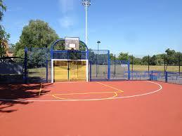 basketball court installation 9