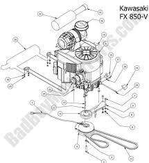 Lawn mower engine parts diagram bad boy lookup outlaw kawasaki fx lawn mower engine parts diagram