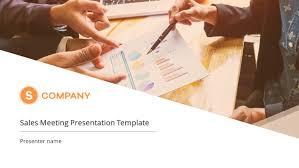Sales Ppt Template Sales Meeting Premium Powerpoint Template Slidestore