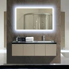 Lights : Lighted Bathroom Mirror Illuminated Galaxy X In Dimmable ...