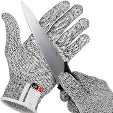 <b>NEW Safe Cut Proof</b> Stab Resistant Stainless Steel Wire Metal Mesh ...