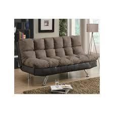office sleeper sofa. 2 tone plush futon office sleeper sofa