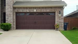 16x7 garage doorBefore  After 16x7 Garage Door