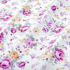 pillow fabrics cotton fabric purple rose pattern patchwork sewing baby bedding clothes pillow fabrics flexsteel pillow fabrics