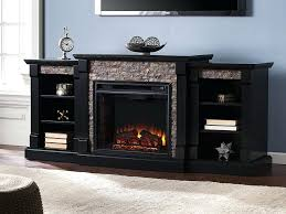 black electric fireplace entertainment center gallatin infrared electric