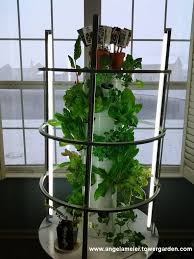 the tower garden can be used indoors with a great optional lighting rig