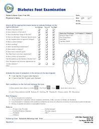 Diabetic Foot Exam Chart Diabetic Foot Exam Documentation Example Google Search