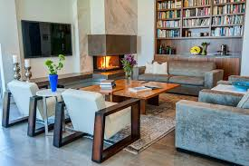 contemporary living room with corner fireplace. Clever Tips To Decorate Around Corner Fireplaces Contemporary Living Room With Fireplace R
