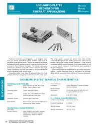 grounding connection system catalog section positronic grounding connection system catalog section 1 6 pages