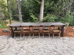 180 10 table and 10 chairs