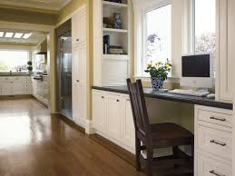 fabulous traditional kitchen book shelves collection of black chair paired hardwood floor white cabinet and black counter with desk area